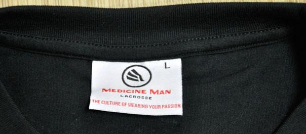 Medicine Man Lacrosse Label