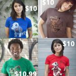 $10 Pokemon Anatomy Tees