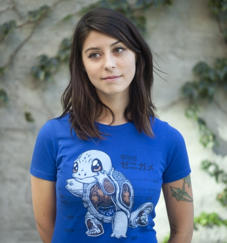 Squirtle Anatomy T-Shirt