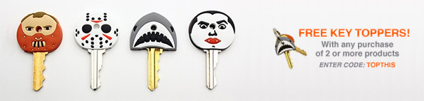 Free Key Toppers