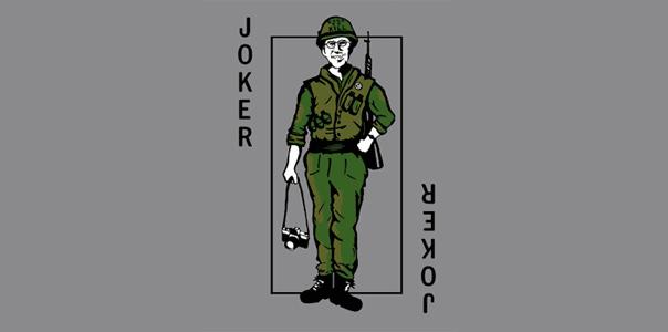 Full Metal Jacket Private Joker T-Shirt