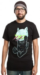 Mister Mittens' Big Adventure and Control Bear T-Shirt