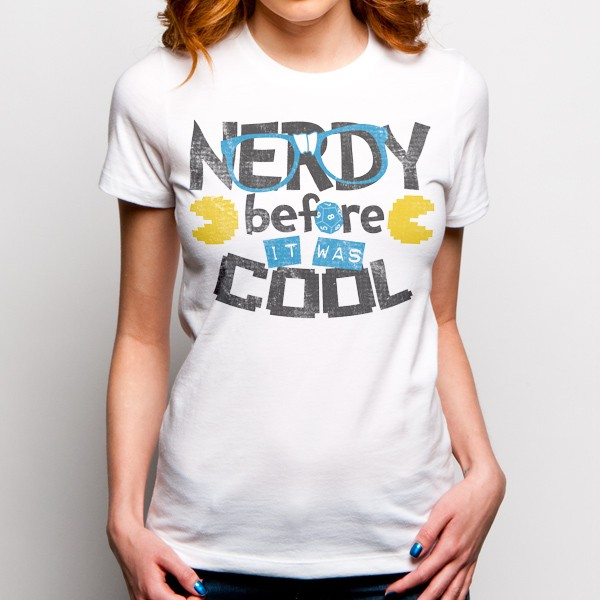 Nerdy Before It Was Cool T-Shirt