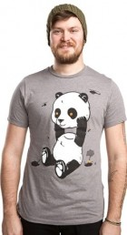 Pandamonium and Control Bear T-Shirt