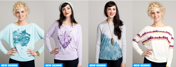 Premium women's clothing, made in USA - Threadless Select