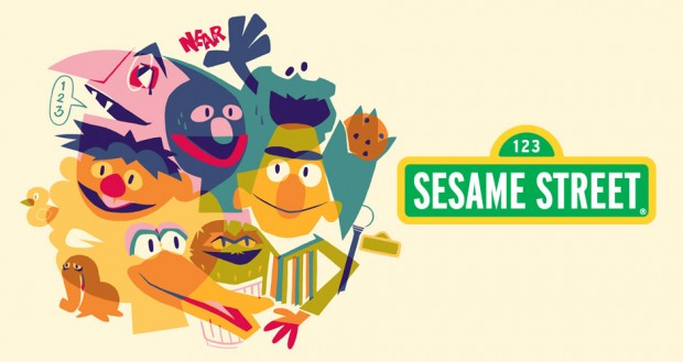 New Sesame Street T-Shirts at Threadless