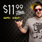 $11.99 Tees and More at Threadless