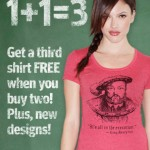 Buy 2 get 1 Free at Headline Shirts