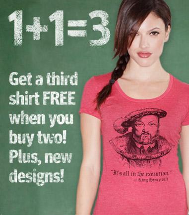 Buy 2, Get 1 FREE!