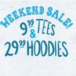 $9.99 Tees in Threadless Weekend Sale