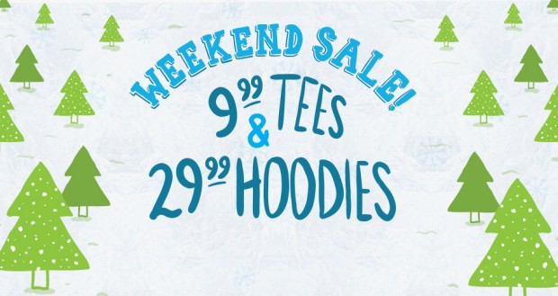 Threadless Weekend Sale
