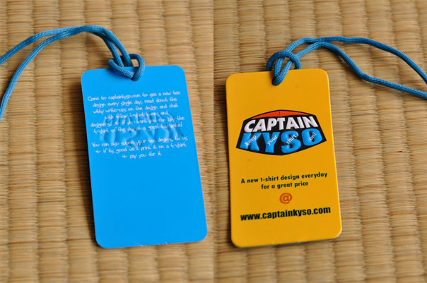 Captain KYSO HangTag