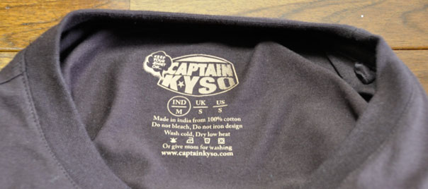 Captain KYSO Printed Tag