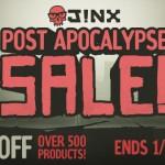 J!NX Post Apocalypse Sale