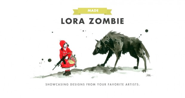 Lora Zombie on Threadless