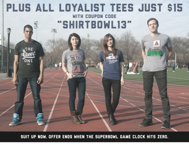 $15 Loyalist Tees