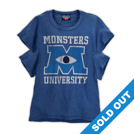 Monsters University 4 Sleeved T-Shirt