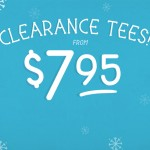 $7.95 T-Shirts at Threadless