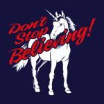Don't Stop Believing Unicorn