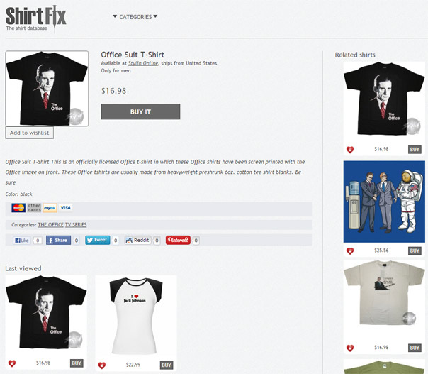 ShirtFix-Product-Page-Layout