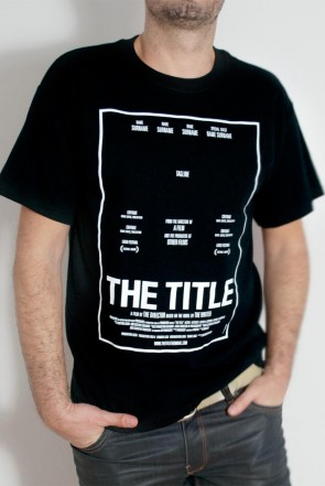 'The Title' Black T-shirt