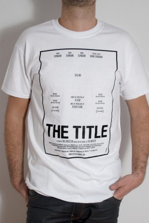 'The Title' White T-shirt
