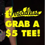 $5 T-Shirt at Threadless!