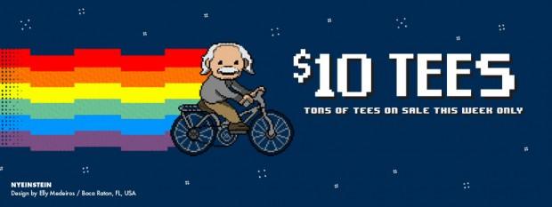 $10 Tees at Threadless