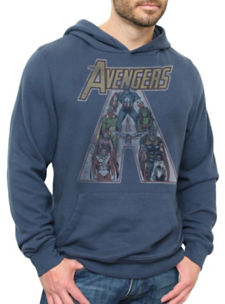 The Avengers Vintage Inspired Super Soft Pullover Hoodie