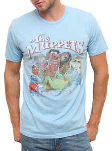 The Muppets Vintage Inspired Heather Tee