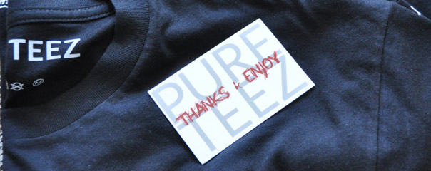PURE TEEZ Business Card