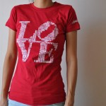 Women's Aphillyated LOVE Tee