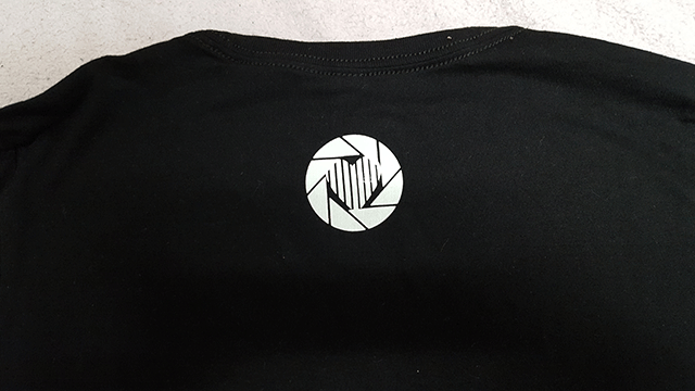 Click Gear Clothing Back Print Logo