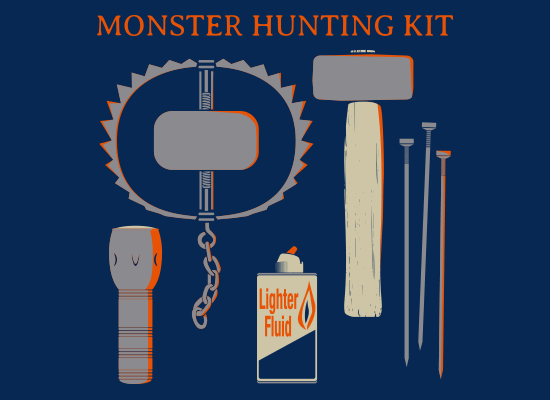 Monster Hunting Kit