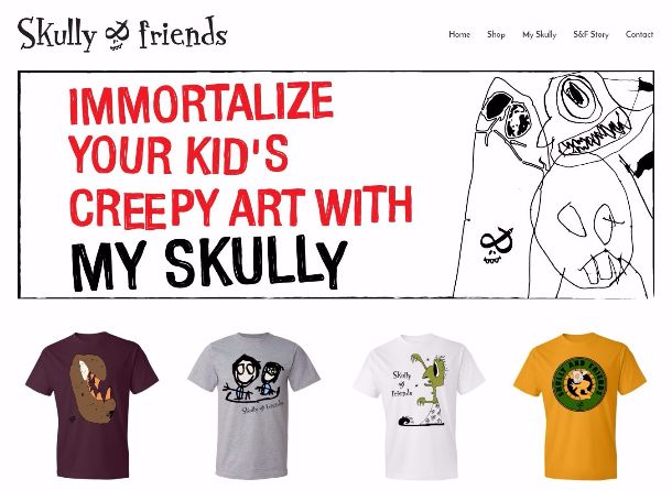 Skull & Friends Website