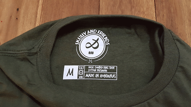 Skully & Friends Label
