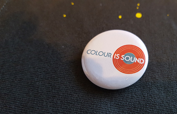 Colour is Sound Button