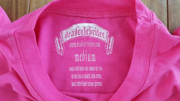 Deadcelebritee Neck Label