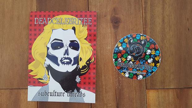 Deadcelebritee Stickers